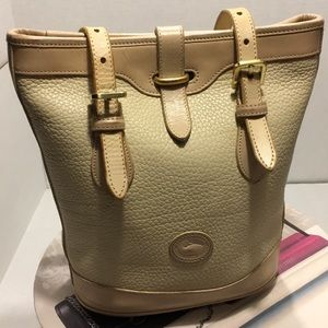 Vintage Dooney & Bourke Leather Mini Bucket Bag